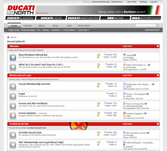 Ducati UpNorth screenshot
