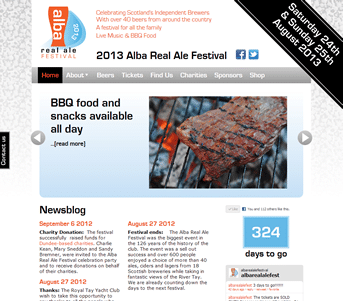 Alba Real Ale Festival screenshot