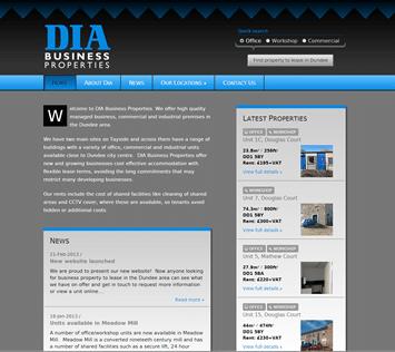 DIA Business Properties screenshot