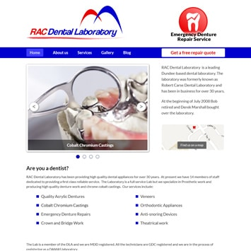 RAC Dental Lab screenshot
