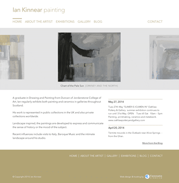 Ian Kinnear Painting screenshot