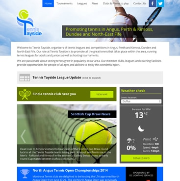 Tennis Tayside screenshot