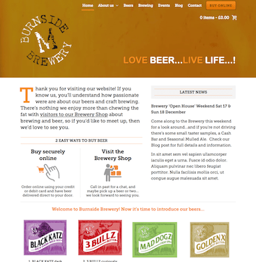 Burnside Brewery screenshot